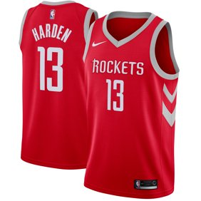 2c4a08006692 James Harden Houston Rockets Nike Swingman Jersey Red - Icon Edition