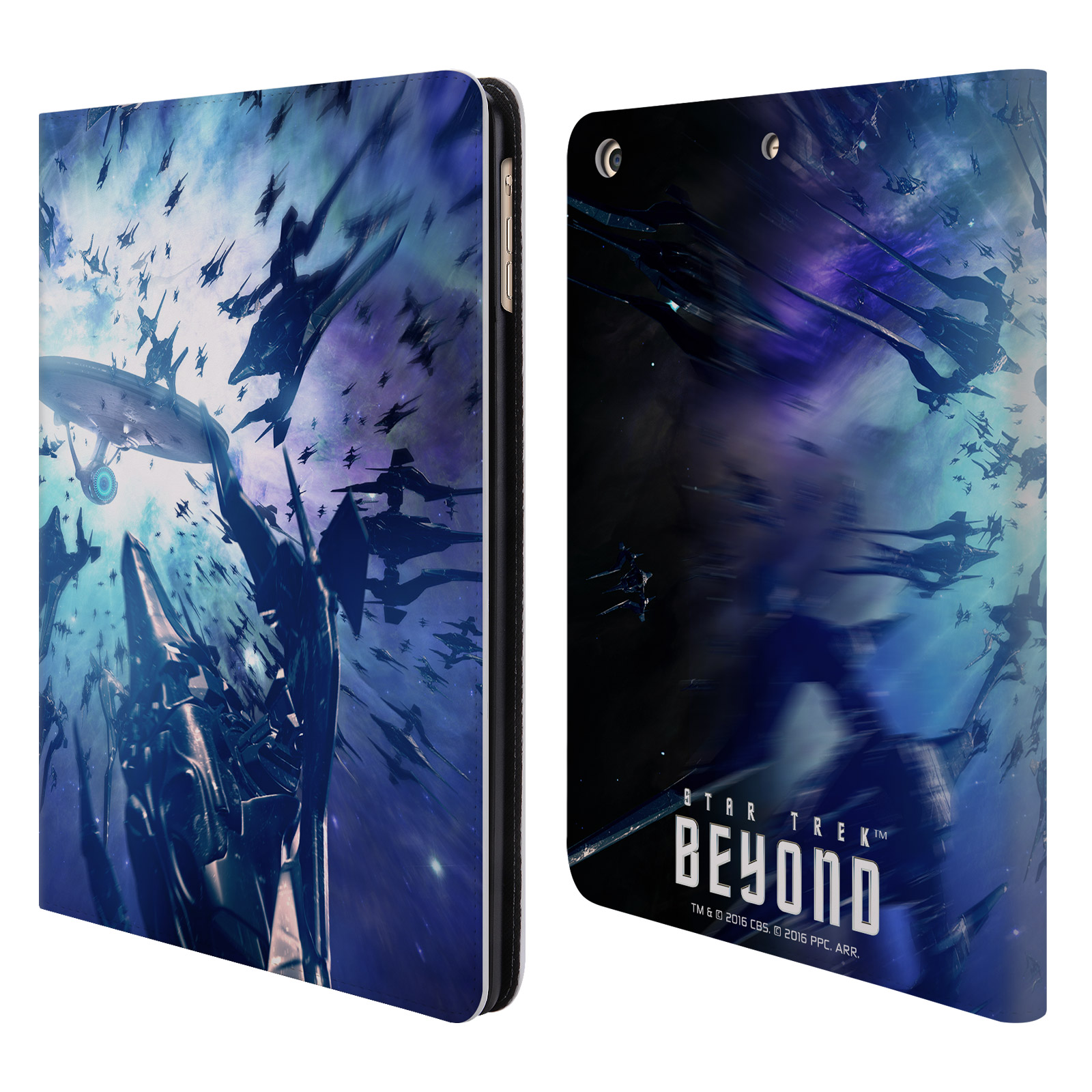 OFFICIAL STAR TREK POSTERS BEYOND XIII LEATHER BOOK WALLE...