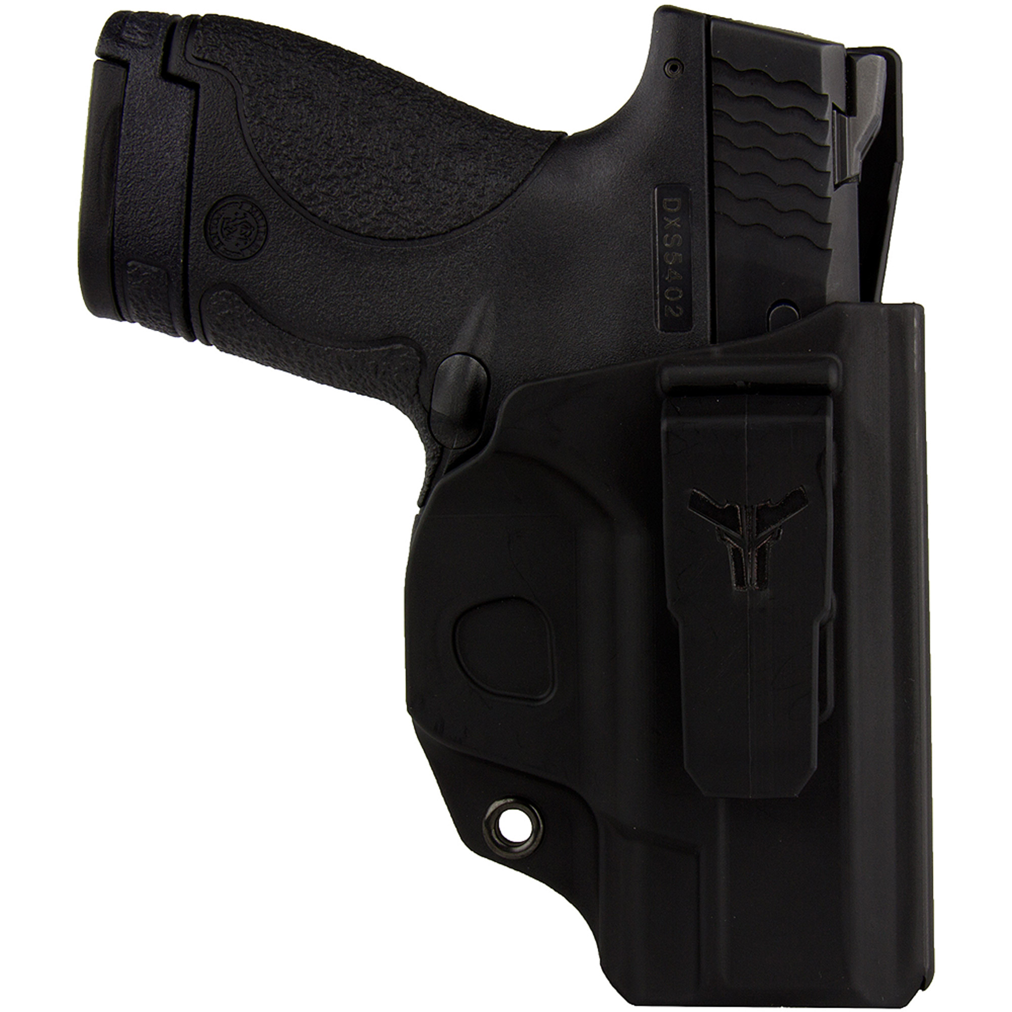Blade Tech Industries Klipt Holster, Fits S&W M&P Shield, Right Hand, Black