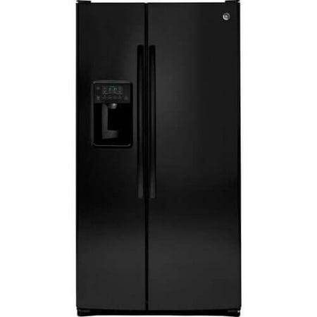 GE GSS25GGHBB 25.4 Cu. Ft. Black Side-By-Side Refrigerator