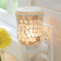 Better Homes & Gardens Mosaic Wall Accent Scented Wax Warmer