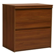 Lateral File Cabinet w 2 Drawers in Expert Plum Finish