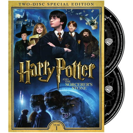 Harry Potter and the Sorcerer's Stone (DVD) (Harry Potter And The Sorcerers Stone Rom)