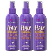Aussie Hair Leave-In Conditioner with Jojoba Oil, 8 fl oz, 3 Pack