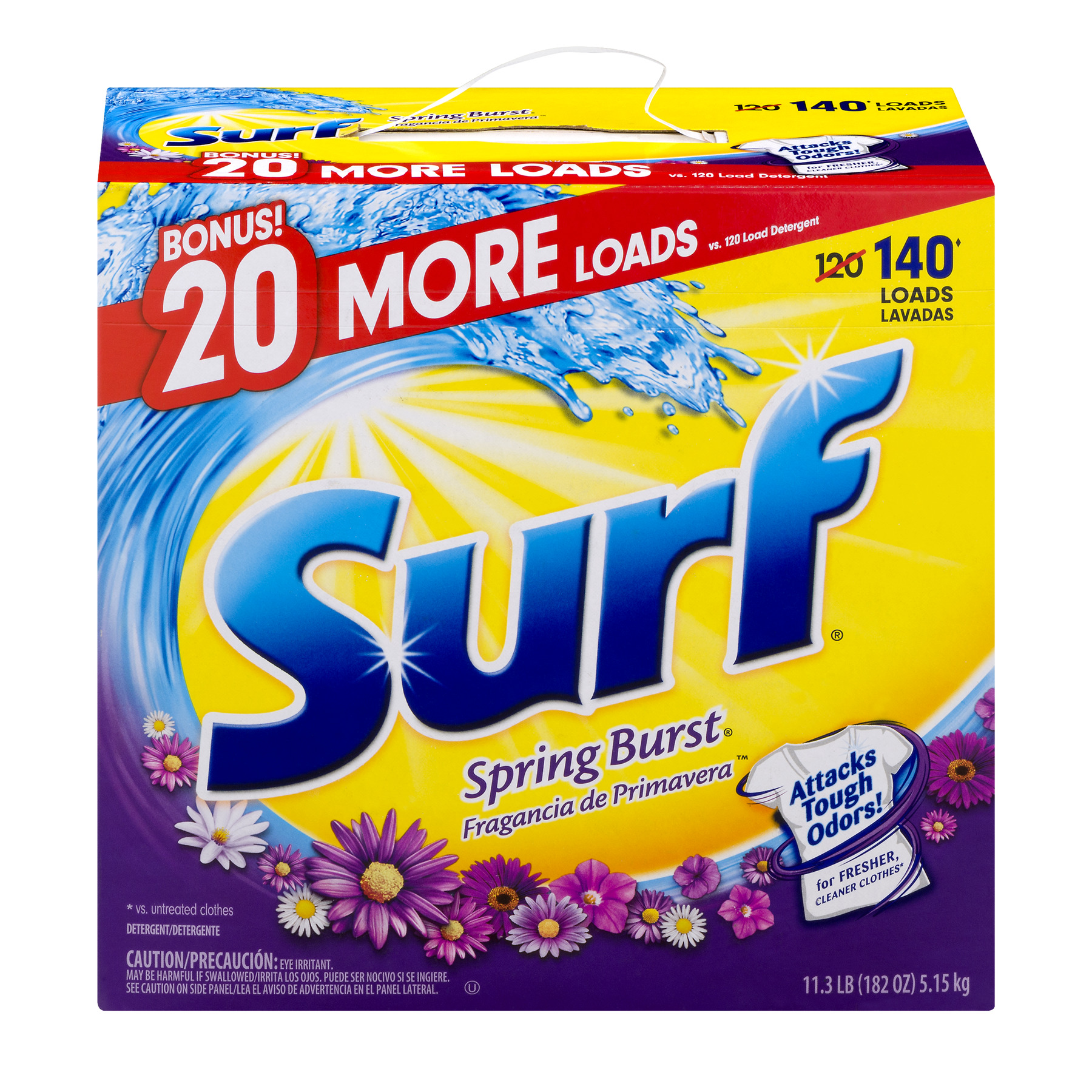 Surf® Spring Burst® Powder Laundry Detergent 182 oz. Box