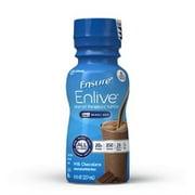 Ensure Enlive Nutritional Shake, Chocolate, 8 Ounce Bottle, Abbott 64283 - Case of 24