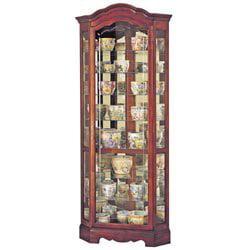 Howard Miller Jamestown Corner Curio Cabinet by Howard Miller