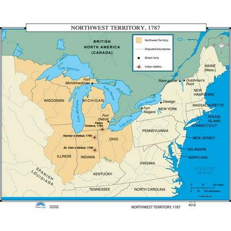 Universal Map U.S. History Wall Maps - Northwest Territory ...