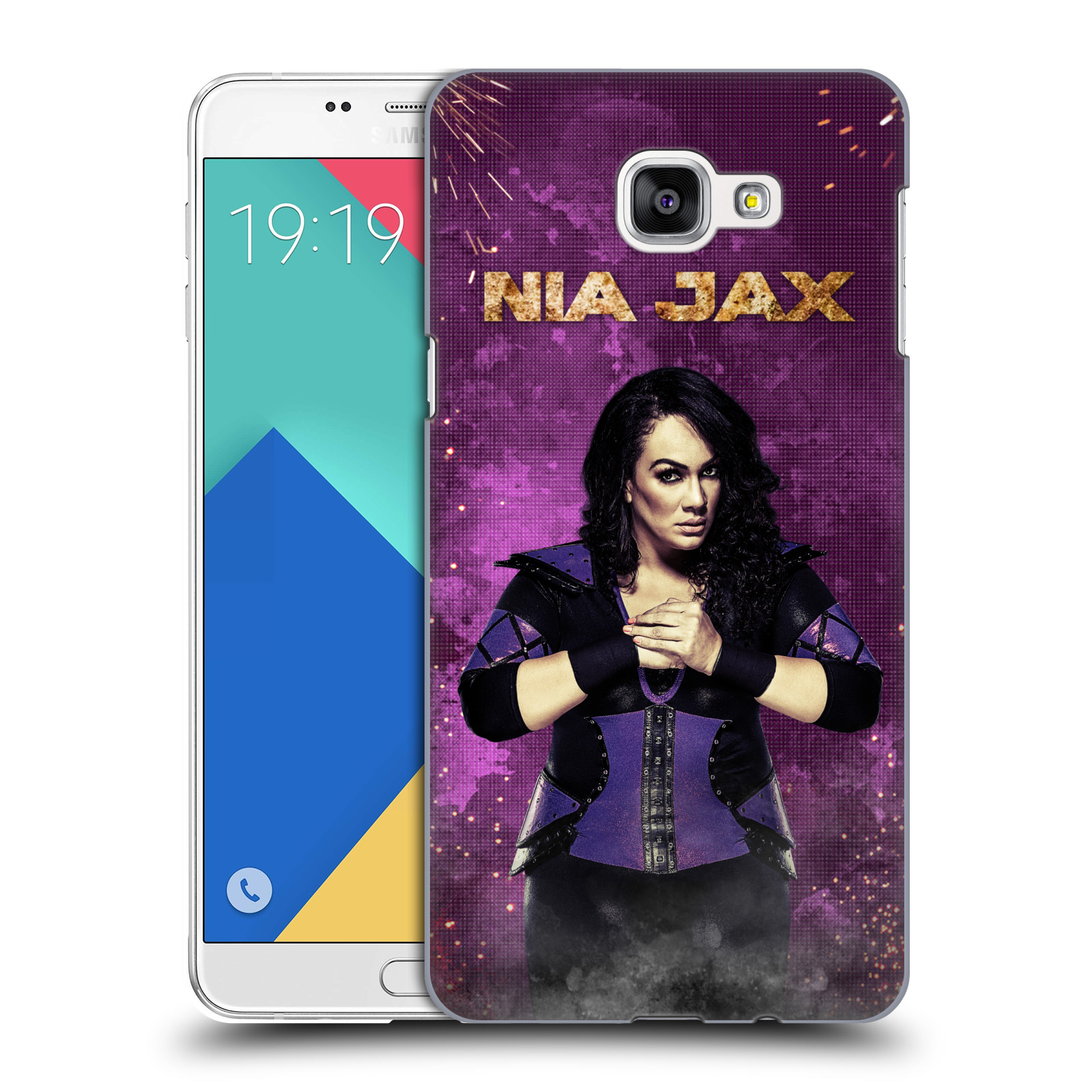OFFICIAL WWE NIA JAX HARD BACK CASE FOR SAMSUNG PHONES 2
