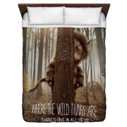Where The Wild Things Are Wild Thing Tree Queen Duvet Cover White 88X88