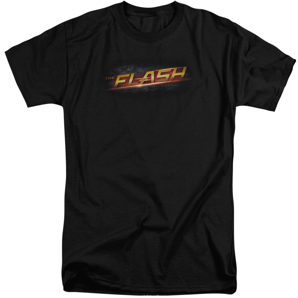The Flash Logo Mens Big and Tall Shirt