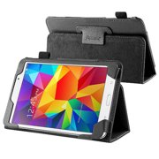 Insten Black Leather Stand Tablet Case For Samsung Galaxy Tab 4 7.0 7 inch T230 SM-T230