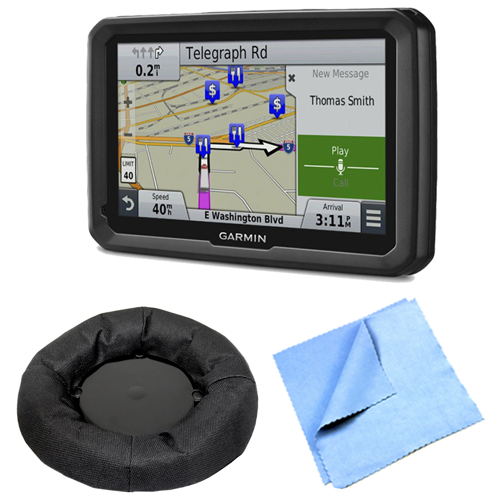 "Garmin dezl 770LMTHD 7"" GPS with Lifetime Map and Traffic Updates Universal GPS Navigation Dash-Mount"