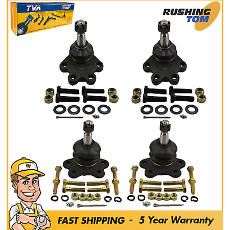 New Front Upper and Lower Ball Joint Assembly Set For GMC & Chevrolet Trucks 4WD