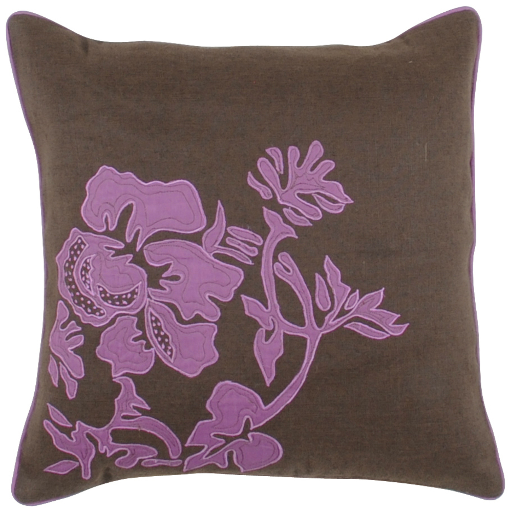 Surya Decorative P0127-1320 Pillow - (Polyester Filling/18 Inch x 18 Inch )