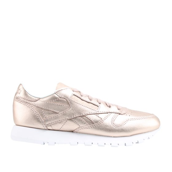 e8409ecf3c2 Reebok - Reebok Classic Leather Melted Metal Bronze White Women s ...