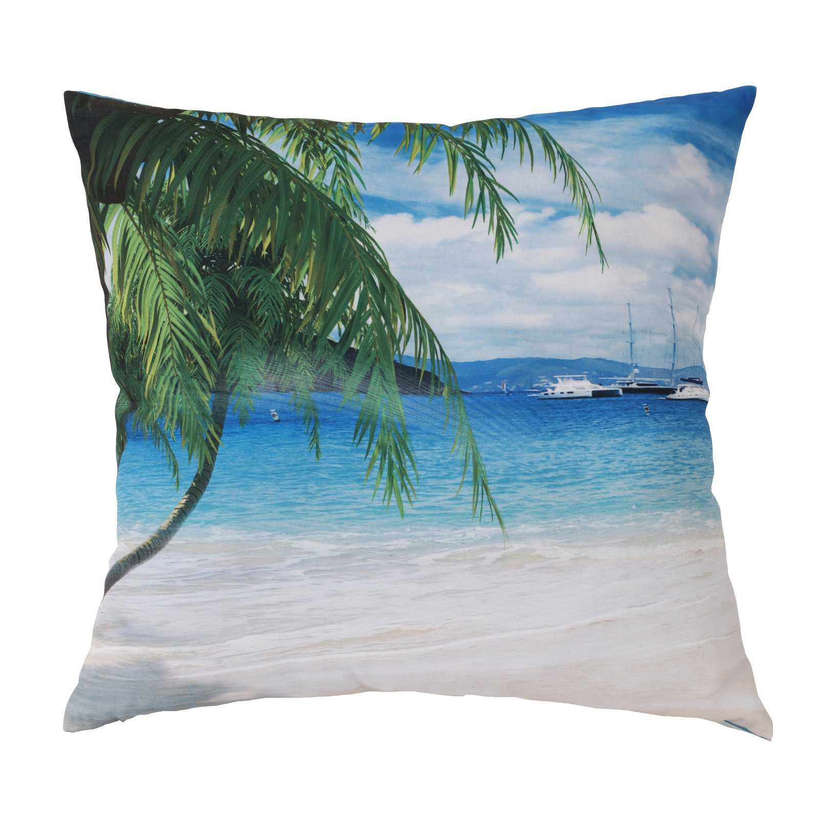 Habitat Dreamy Beach Outdoor Throw Pillow