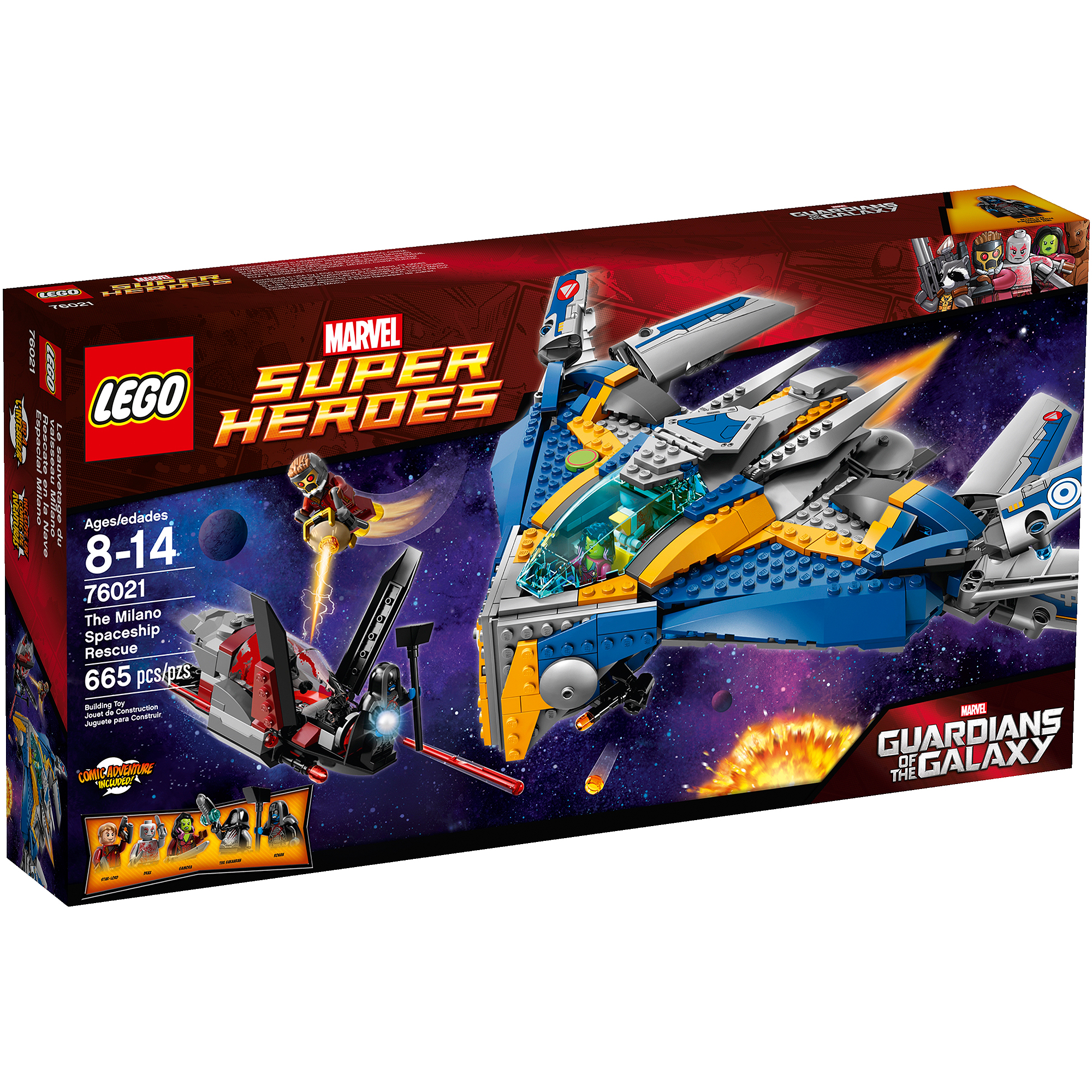 Lego Super Heroes The Milano Spaceship Rescue by Lego