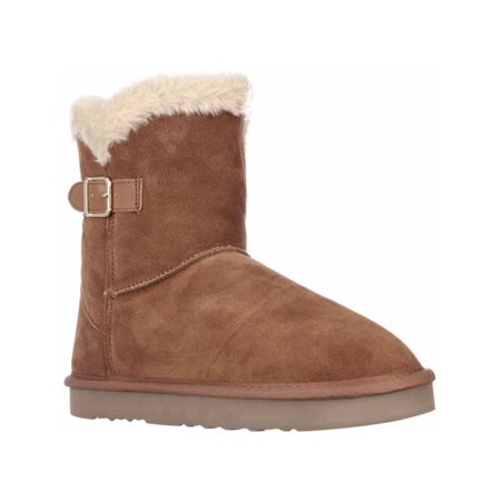 Chestnut Brown Boots - Womens SC35 Tiny2 Cold Weather Comfort Boots, Chestnut