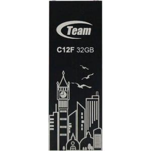 32GB Team C12F Bookmark USB2.0 Flash Drive (Big Ben) Black by Team