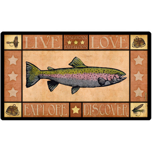 American Expedition Lodge Series Trout Cutting Board