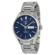 Tag Heuer Carrera Blue Dial Stainless Steel Men's Watch