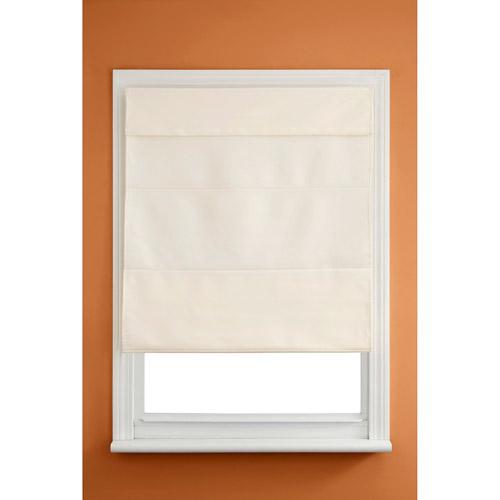 Kenney Fabric Roman Shade, Linen