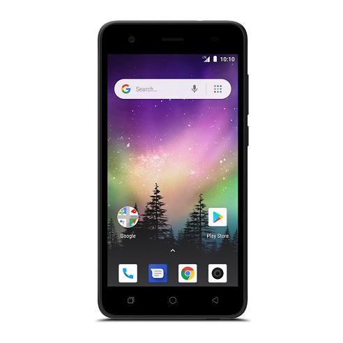 Virgin Mobile Coolpad Illumina 8GB Prepaid Smartphone, Black