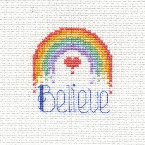 Bucilla Beginner Stitch Kit, Believe