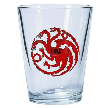 Thrones Shot Glass - Game Of Thrones Deluxe Shot Glass Targaryen Sigil