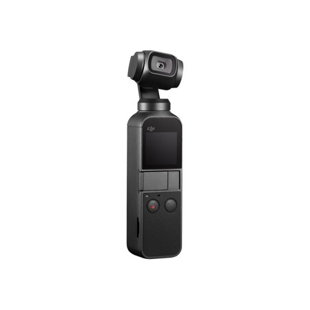 DJI Osmo Pocket Handheld Camera, lightweight portable, 4K 60fps , Video Mechanical Stabilization, Intelligent Shooting with 140-min Battery Life