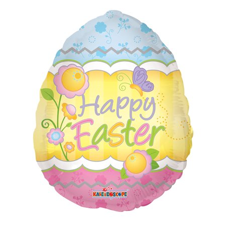 Easter Balloon - Easter EggShaped 18