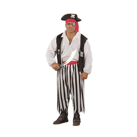 Pirate Man Costume Plus Size