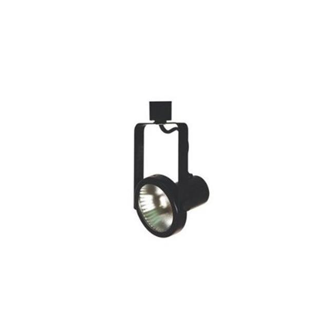Rust Finish Cal Lighting SL-954-3-RU//MDB Track Lighting with Mesh Dark Bronze Shades