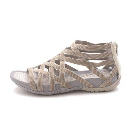 4069a4ccf06 BareTraps - Bare Traps Womens Samina Open Toe Casual Flat Sandals -  Walmart.com