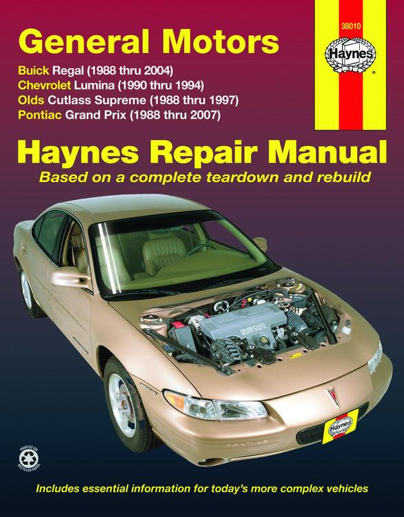 haynes repair manual paperback general motors buick regal rh walmart com 1985 Buick Regal 1978 Buick Regal