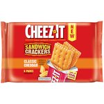 Cheez-It Classic Cheddar Sandwich Crackers 6-1.48 oz. Packages by Sunshine Biscuits, LLC
