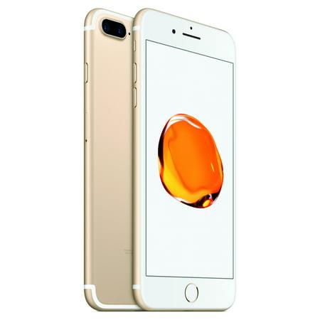 Straight Talk Prepaid Apple iPhone 7 Plus 32GB, Gold