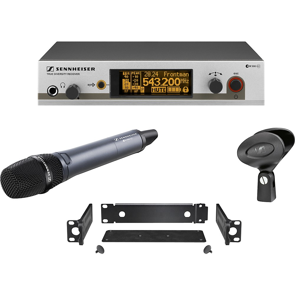 Sennheiser ew 335 G3 Cardioid Microphone Wireless System Band G