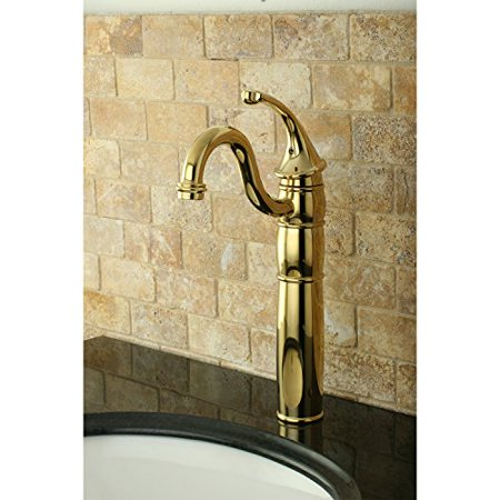 Kingston Brass Georgian Single Handle Vessel Sink Faucet with Optional Cover Plate - image 1 of 1