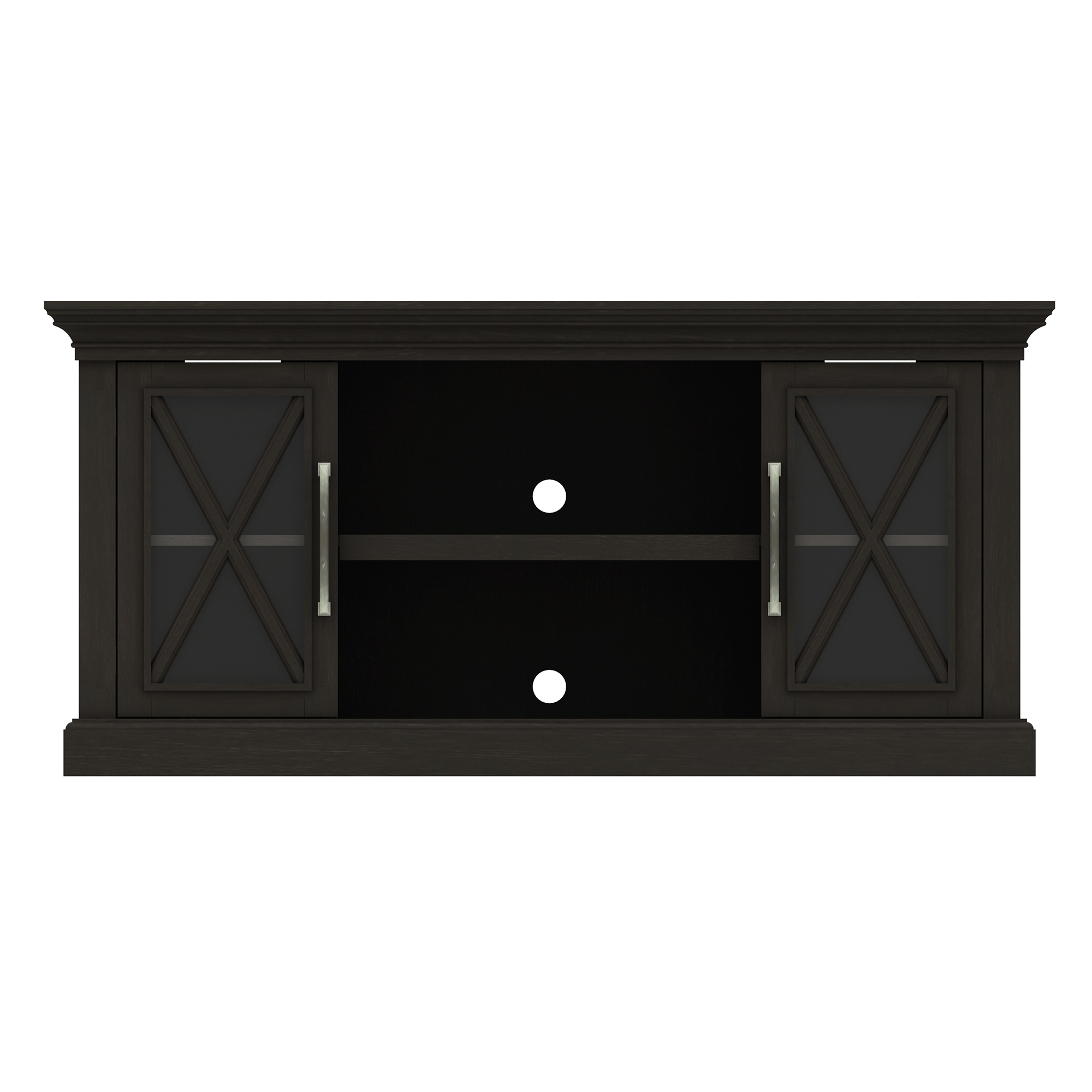 Society Hill Black TV Stand for TVs up to 65""