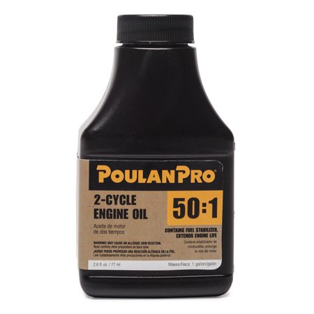 Snowmobile 2 Cycle Oil (Poulan Pro 50:1 2-Cycle Engine Oil in 2.6 oz.)