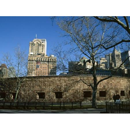 Castle Clinton, Battery Park, New York City, New York, USA Print Wall Art By Ethel