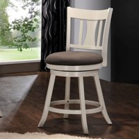 ACME Tabib Counter Height Chair with Swivel, Cappuccino