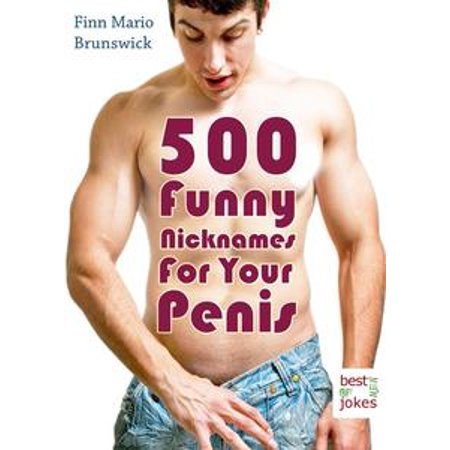500 Funny Nicknames For Your Penis - Creative Names For Your Best Friend (Illustrated Edition) - eBook
