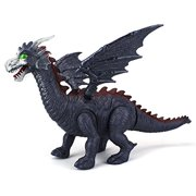 Dinosaur Family Winged Dragon Battery Operated Walking Toy Dinosaur Figure w  Realistic Movement, Lights and Sounds... by Velocity Toys