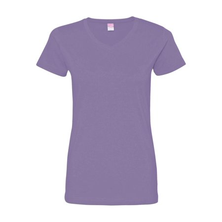Aqua Halloween Lyrics (LAT T-Shirts Women's V-Neck Fine Jersey Tee)