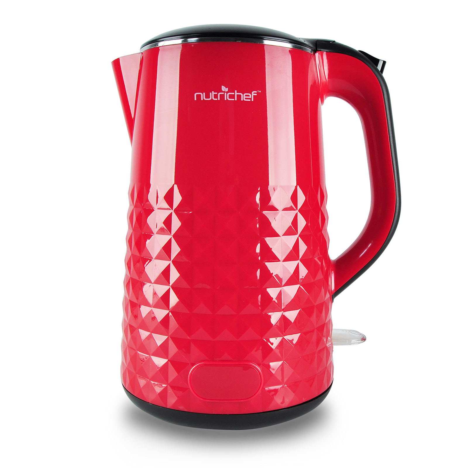 NutriChef Electric Kitchen Kettle, Cordless Water Boiling Hot Pot