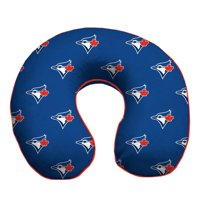 Toronto Blue Jays Memory Foam Travel Pillow - Blue