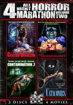 All Night Horror Movie Marathon Volume 2 (DVD) by SHOUT! FACTORY